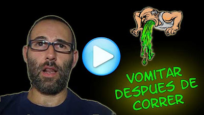 vomitar despues correr