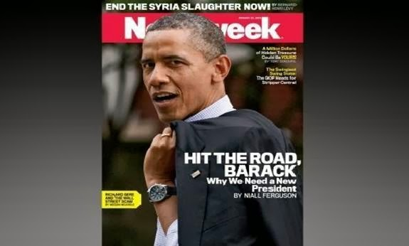 newsweek article about obama matt patterson