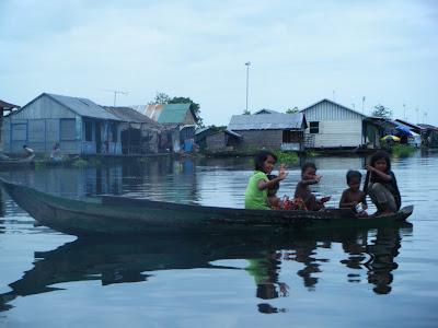 Плавучие деревни, Камбоджа, Батамбан в Сьем-Рип