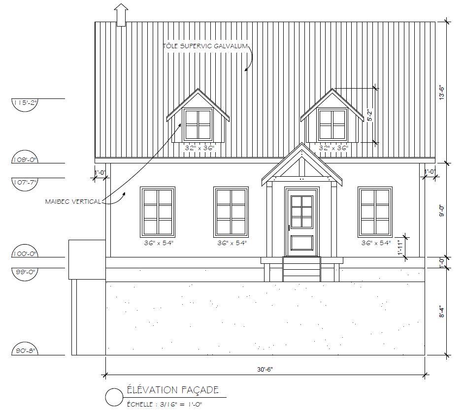 La qu b coise en montagne projet for Mon plan de maison parfait