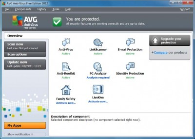 AVG Antivirus 2012 Free Edition