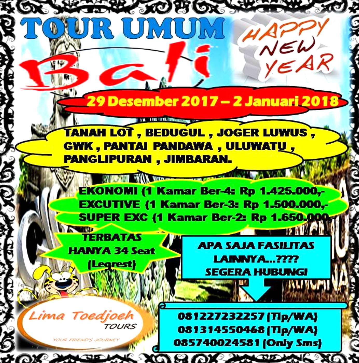 BALI TOUR UMUM 2018