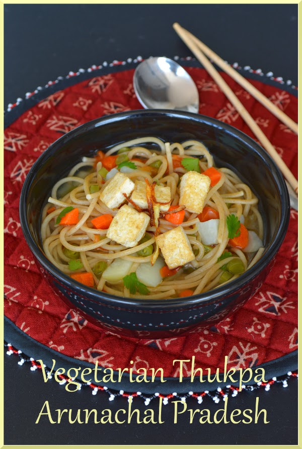 Vegetarian Thukpa