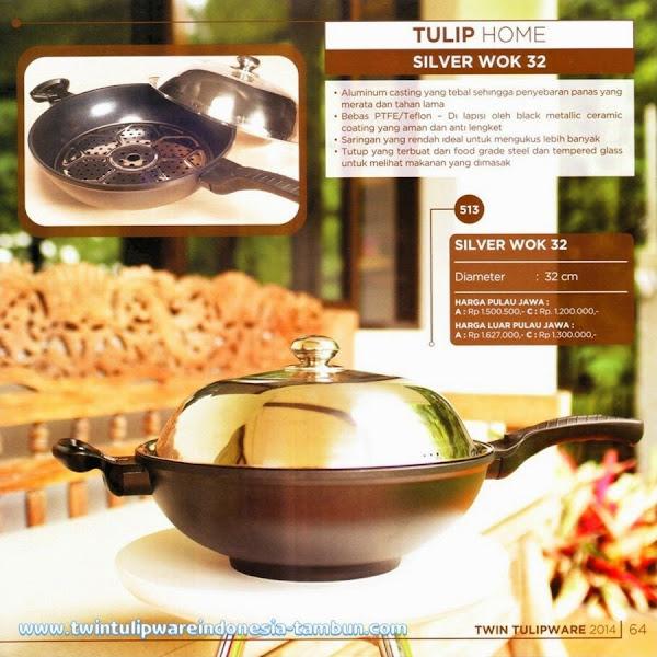 Silver Wok 32, Wajan Tulipware 2014