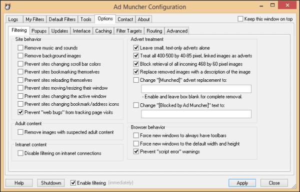 برنامج Muncher لمنع ظهور الاعلانات AdMuncher.png