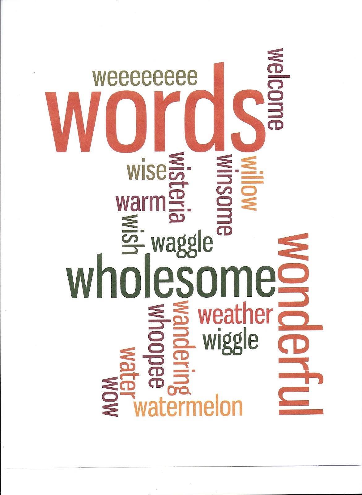 make a word design