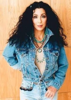 Cher in a photo taken in the late 1990's which came to light this week via her Twitter account