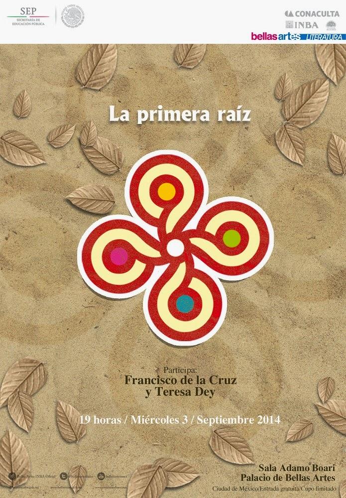 """El ciclo """"La primera raíz"""" presenta a Francisco de la Cruz en el Palacio de Bellas Artes"""