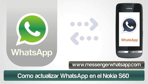Como actualizar WhatsApp en el Nokia S60
