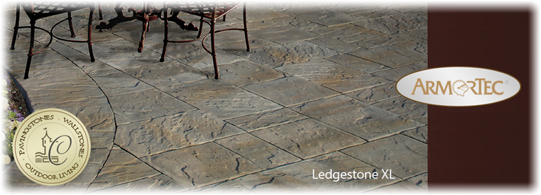 Custom Stoneworks & Design Inc : Cambridge Ledgestone XL paver