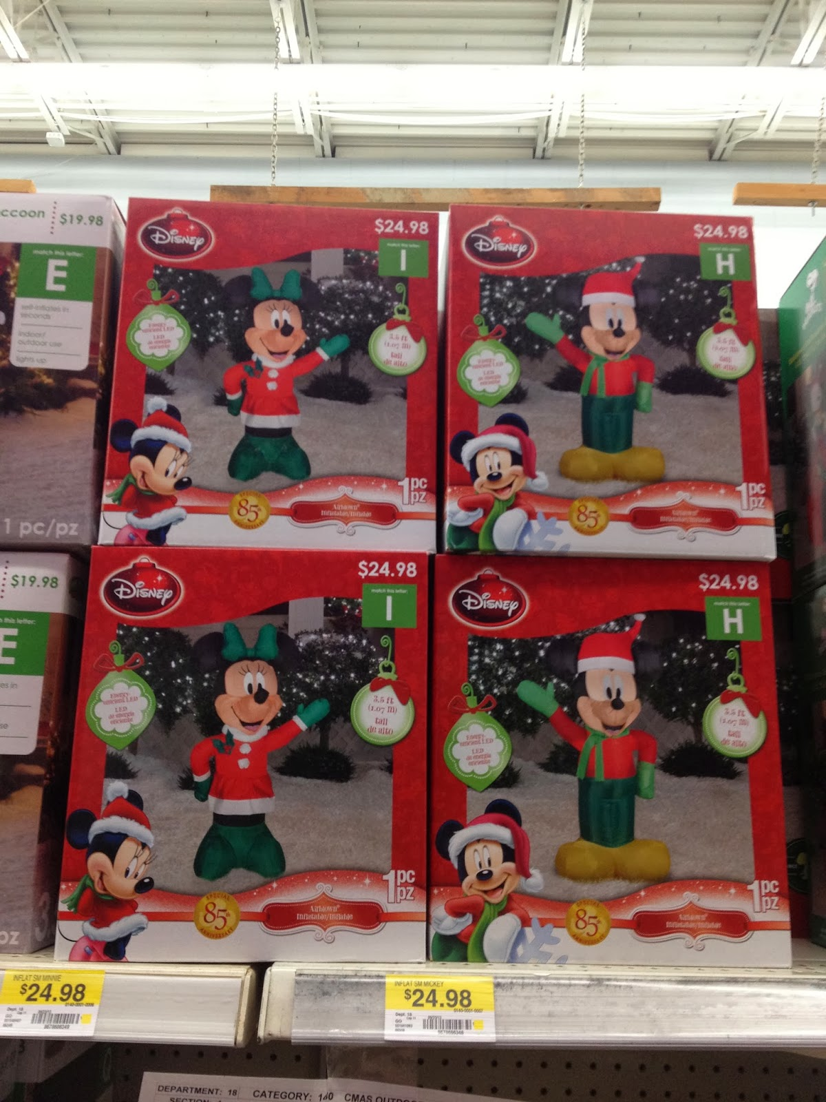 my disney life holiday decorations - Walmart Inflatable Christmas Decorations