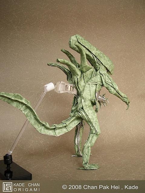 kade chan origami blog �������������� ��� origami alien vs