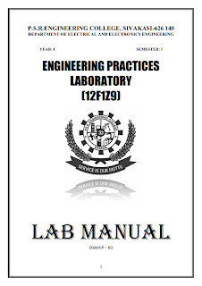 Electrical And Electronics Engineering First Year Lab