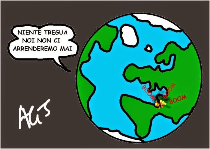 vignetta Gaza, Hamas