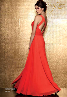 Vestidos de NocheVieja 2012 Rojo intenso