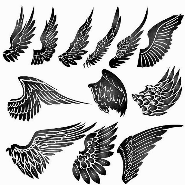 angel wing tattoo designs