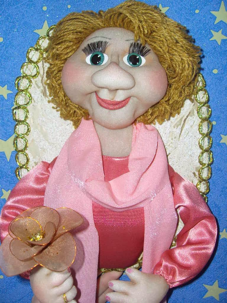 Куклы с капрона своими руками 16