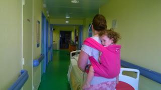 meitai meï-taî LLA ling ling d'amour porte-bébé tissu écharpe hopital bambin portage babywearing