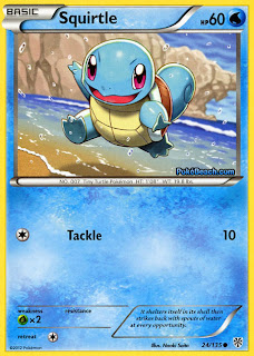 Squirtle Plasma Storm Pokemon Card