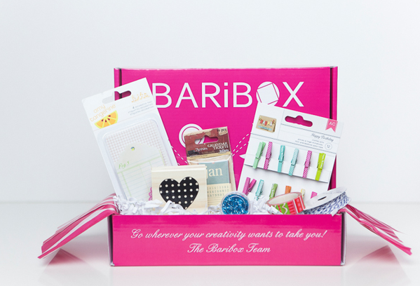 Baribox craft box subscription