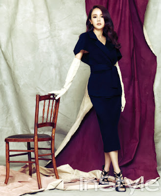 Hwang Woo Seul Hye - InStyle Magazine August Issue 2013