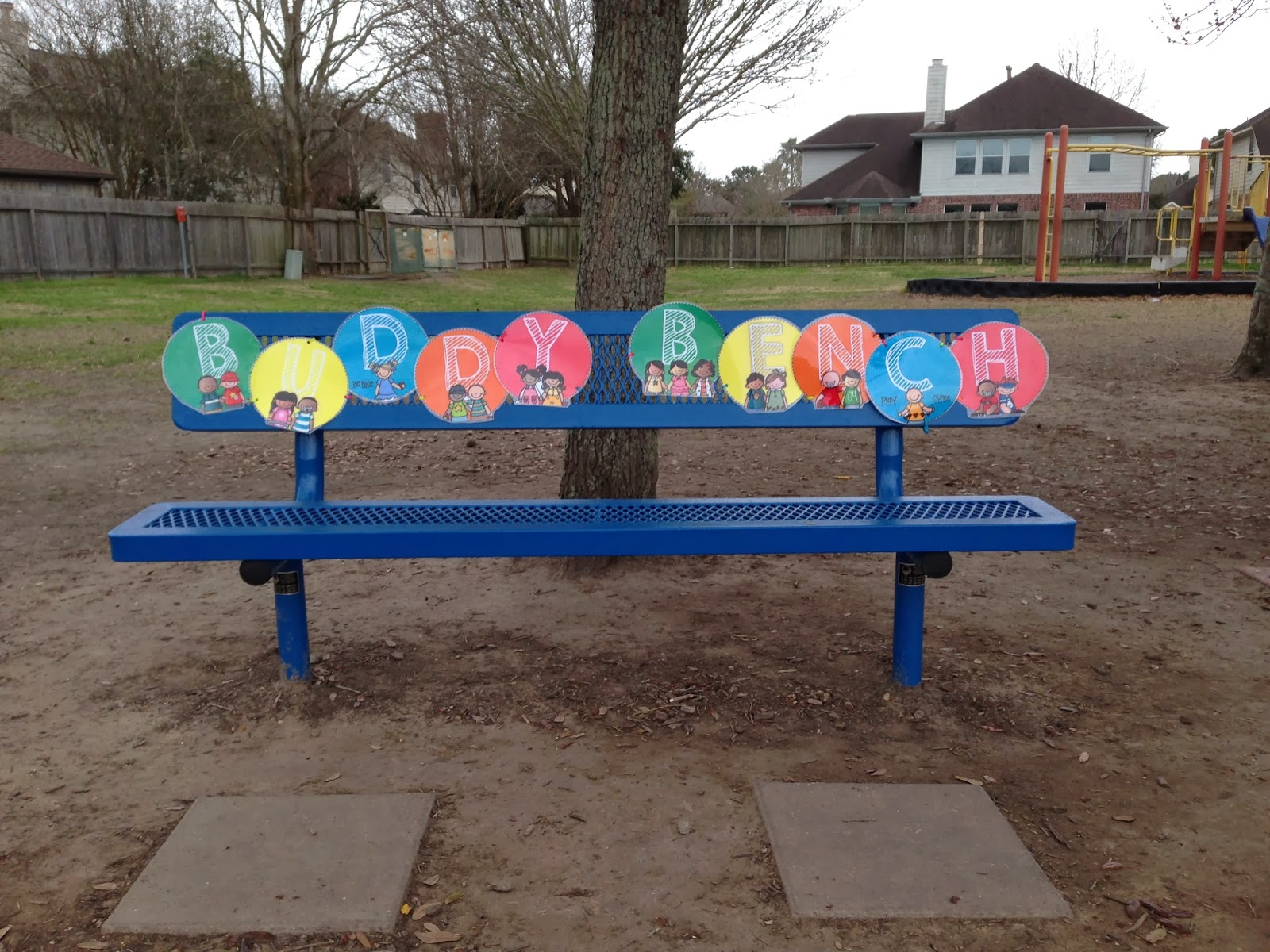 how to build a buddy bench