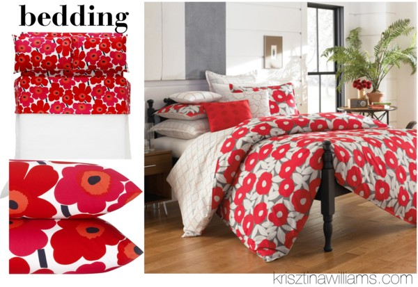 2013 Home Decor Trend Home Goods In Red Poppy