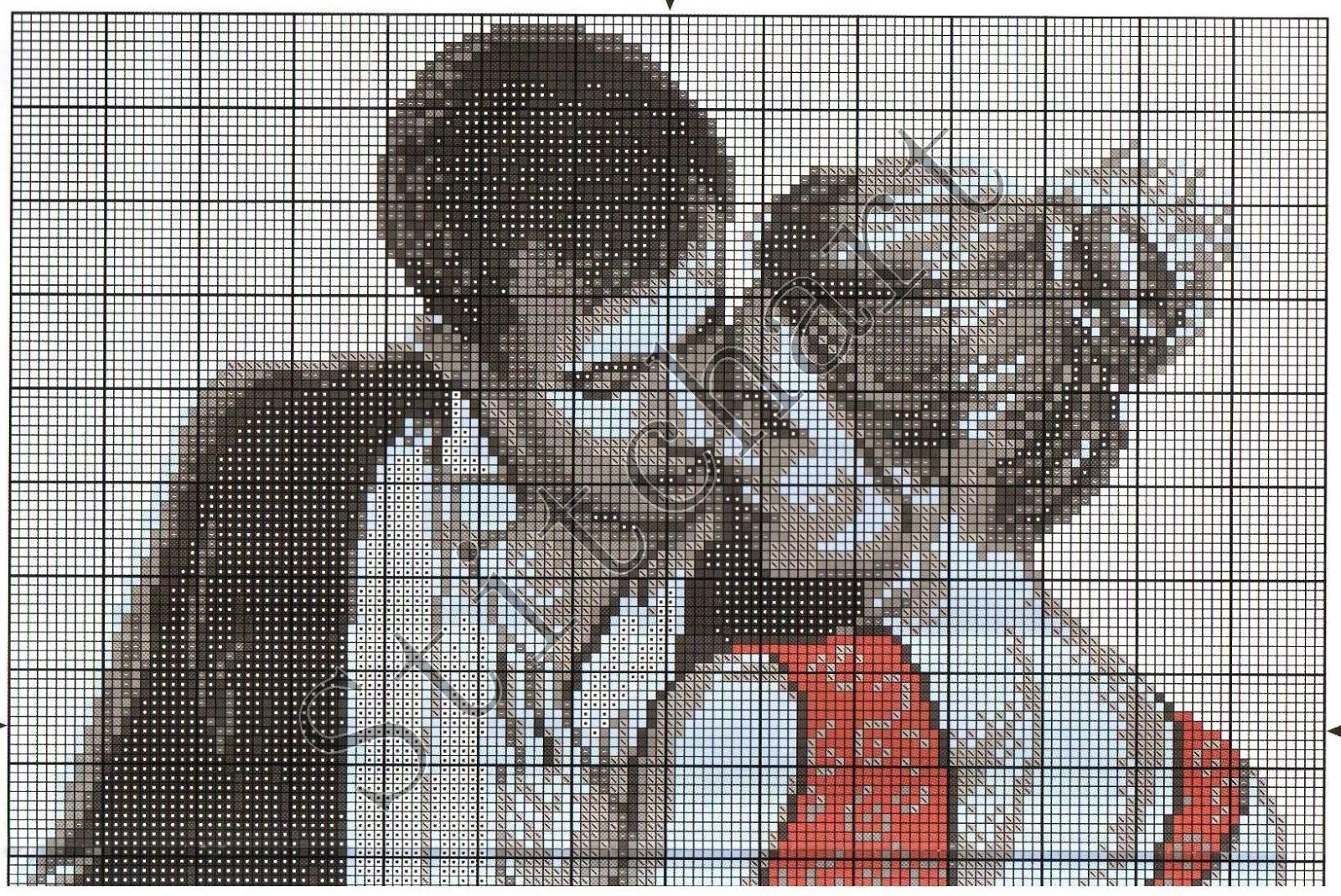 Парень с девушкой, вышивка крестом » Сайт Ручками - делаем