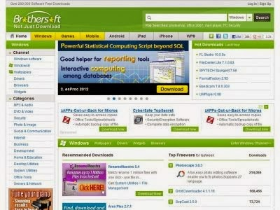 List Best Websites To Download Free Software 24