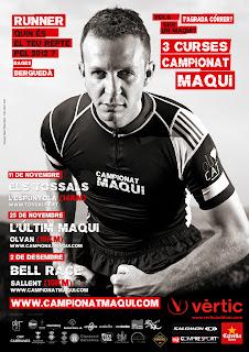 Cartell Campionat Maqui fet per Marc Ribas Serra