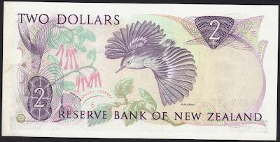 Nuova Zelanda 2 dollars 1989 P# 170c