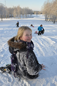Winter has arrived - outdoor fun!