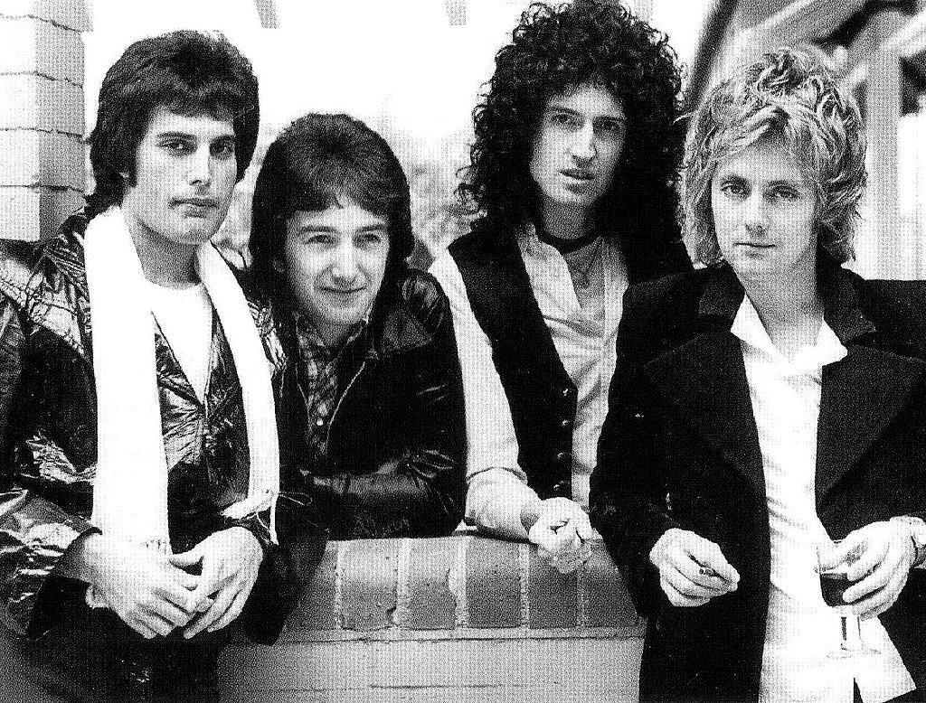 grupo de rock queen: