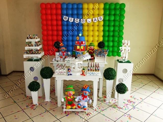 decoração festa infantil patati patatá porto alegre