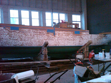 Before - Bolger 38' Sailboat Hull
