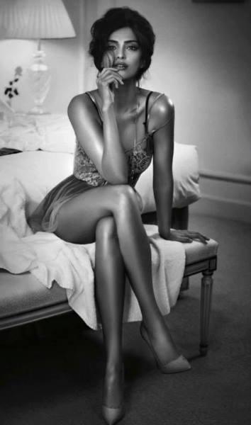 she is Strip Down In Bikini For GQ India Magazine