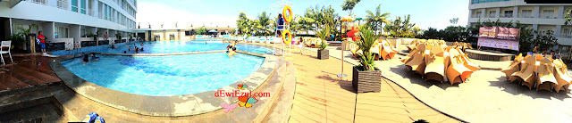 Swimming pools Hotel Grand Clarion Makassar