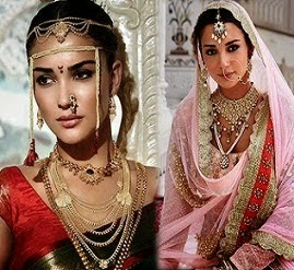 Amy Jackson Bridal Look Photostoot - Awesome
