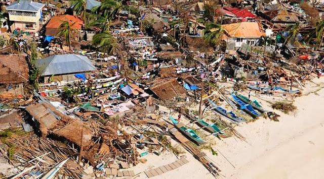 Dampak Dahsyat Topan Haiyan Filipina Seperti Tsunami Aceh