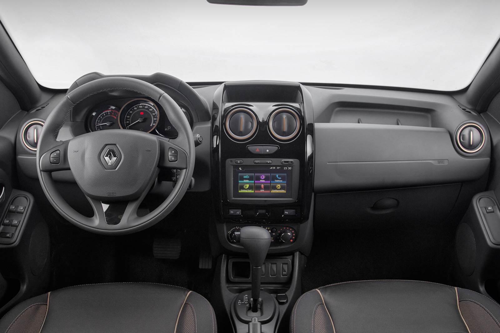 Novo renault duster 2016 fotos pre os e itens das vers es car blog br - Dacia duster 2017 interior ...