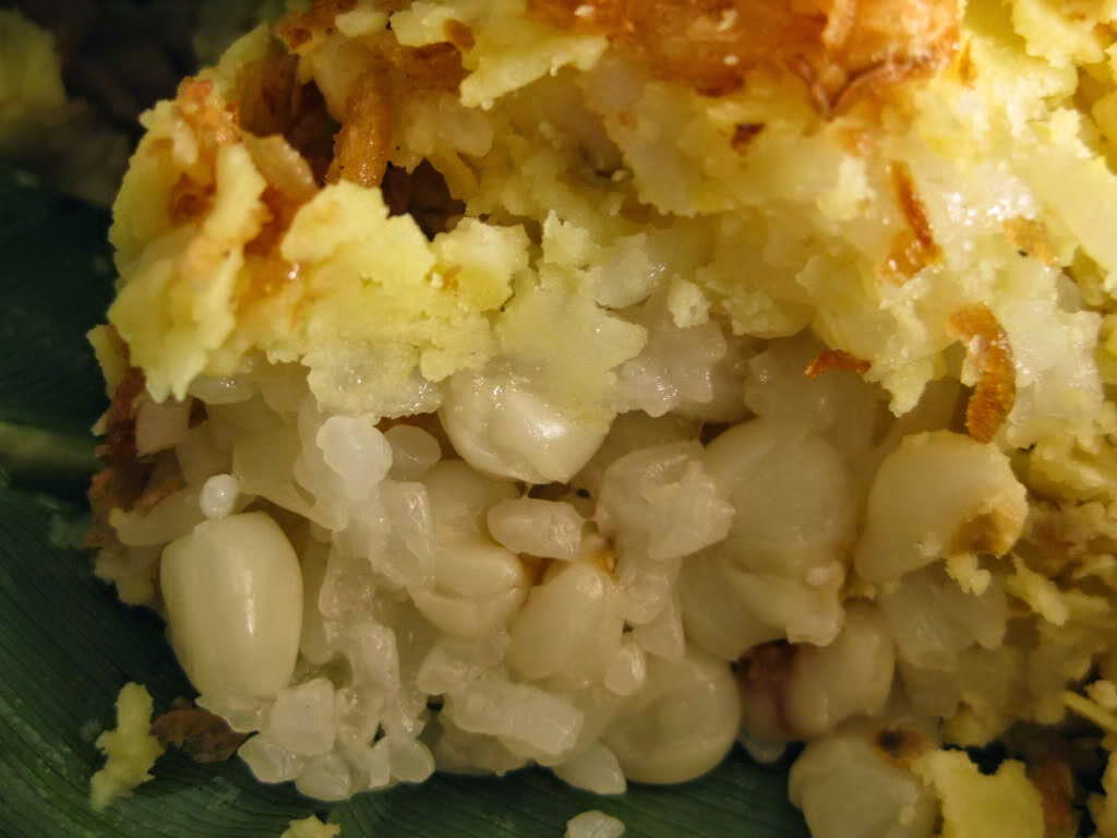 (Xôi ngô) - Steam Glutinous Rice with Corn