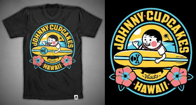 Johnny Cupcakes Hawaii Pop-Up Shop Exclusive T-Shirt