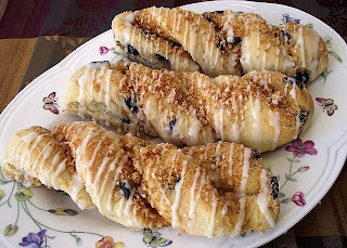 Blueberry Cheesecake Twists from Best of Long Island and Central Florida