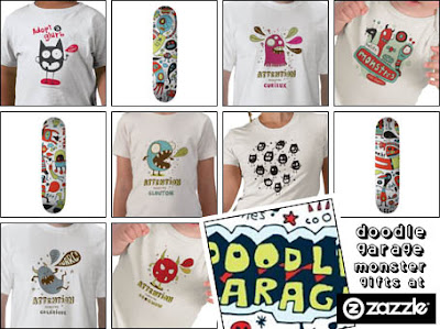 Doodle Garage at Zazzle