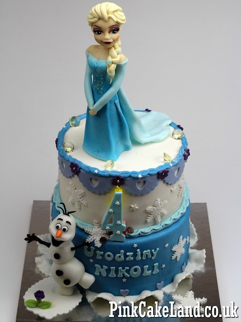 Frozen Birthday Cake #1