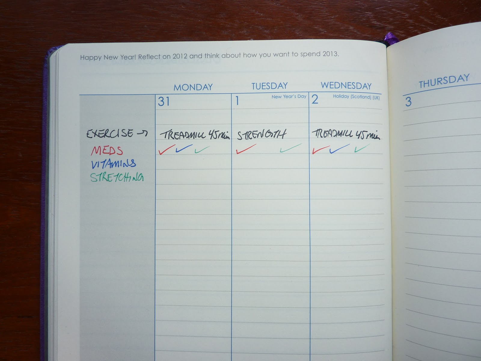Plannerisms How I use my weekly and daily planners at the same time