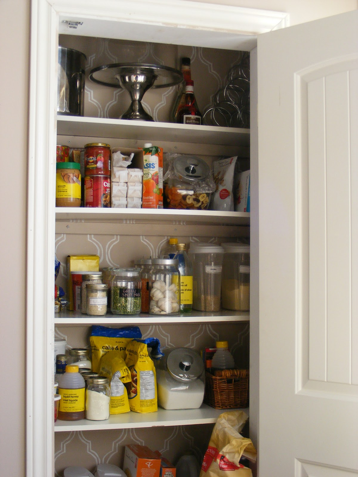 The complete guide to imperfect homemaking an organized for Pantry ideas for a small kitchen