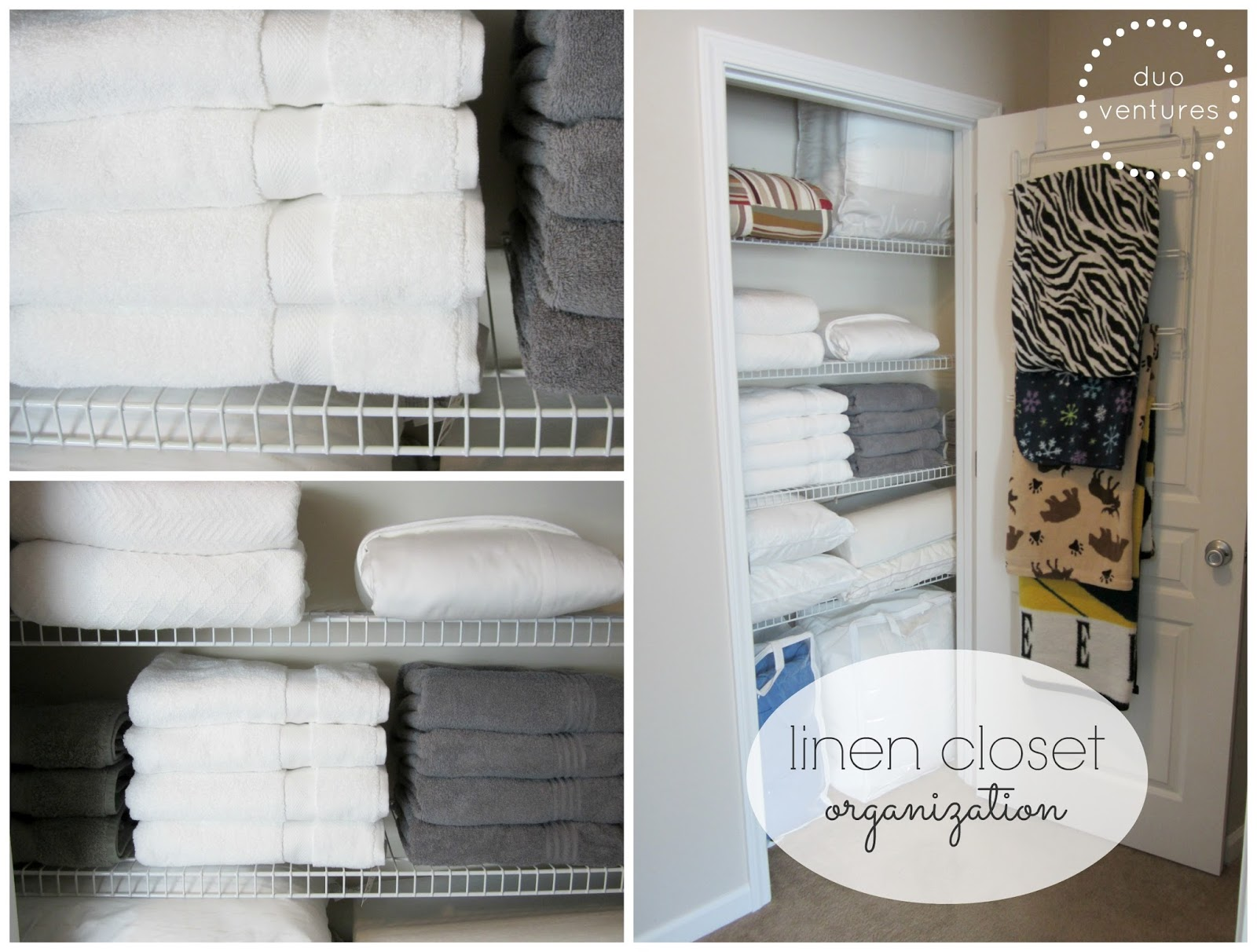 organizing the linen closet - Linen Closet