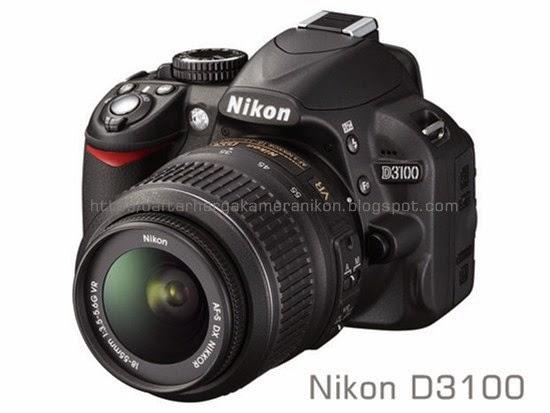 Harga Kamera DSLR Nikon D3100
