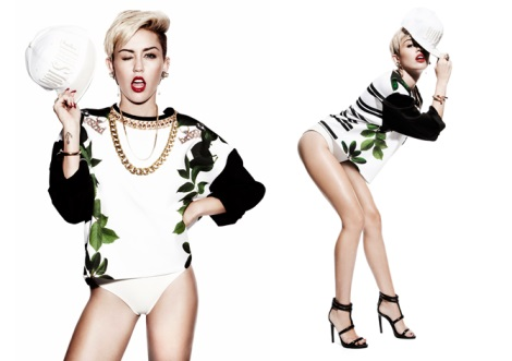Miley Cyrus covers Notion Magazine No.65